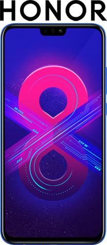 Купить Смартфон Honor, 8X 128Gb Blue (JSN-L21)