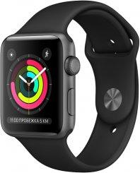 6b0ec1744b5e Умные часы Apple Watch S3 38mm Space Gray Aluminum Case with Black Sport  Band