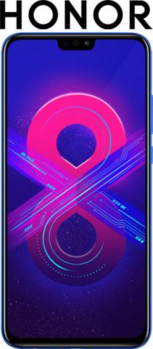 Купить Смартфон Honor, 8X 64Gb Blue (JSN-L21)