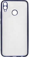 Чехол InterStep Frame для Honor 8X Blue (HFR-HON8X18K-NP1108O-K100), цвет синий, код 4606363413523