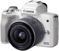 Системный фотоаппарат Canon EOS M50 EF-M15-45 IS STM Kit White