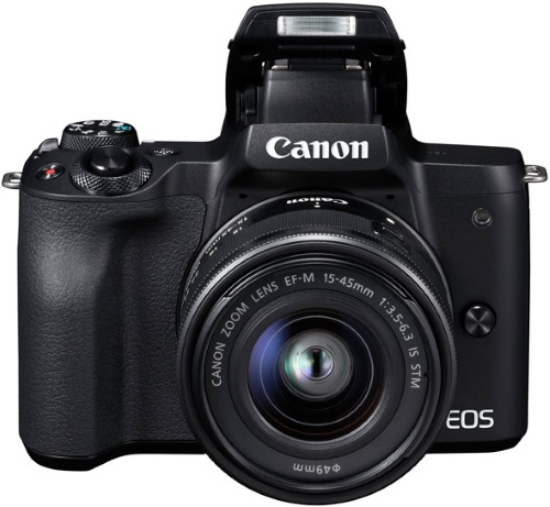 Системный фотоаппарат Canon EOS M50 EF-M15-45 IS STM Kit Black
