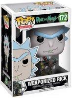 Фигурка Funko POP! Vinyl: Rick&Morty: Weaponized Rick (12439)