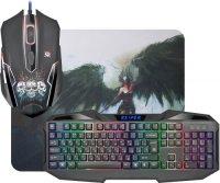 Игровой набор Defender клавиатура + мышь + коврик Reaper MKP-018 (52018)