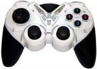 Геймпад 3Cott Single GP-05 White, цвет черный/белый