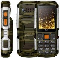Мобильный телефон BQ mobile BQ-2430 Tank Power Camouflage/Silver фото