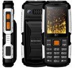 Мобильный телефон BQ mobile BQ-2430 Tank Power Black/Silver