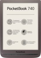 Электронная книга PocketBook 740 Brown