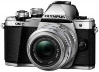 Системный фотоаппарат Olympus OM-D E-M10 Mark II Kit 14-42mm II R Silver