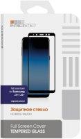 Защитное стекло 2.5D InterStep для Samsung Galaxy J4+/J6+, черная рамка (IS-TG-SAMJ46PFB-000B202)
