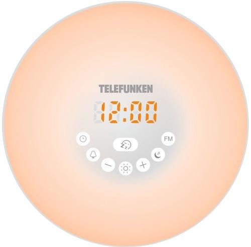 Часы с радио Telefunken TF-1589B White