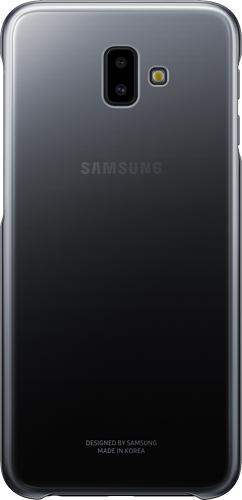 Чехол для смартфона Чехол Samsung Gradation Cover для Samsung Galaxy J6+ (2018) Black (EF-AJ610CBEGRU) Москва