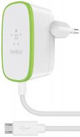 Сетевое зарядное устройство Belkin 1xUSB 2,4A White (F8M886vf04-WHT)