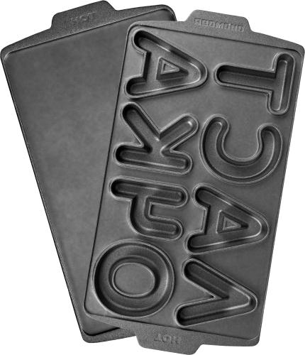 Купить Комплект съемных панелей для мультипекаря Redmond, RAMB-38 (для выпечки печенья в виде букв...