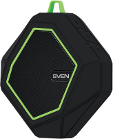 Портативная акустика Sven PS-77 Black/Green