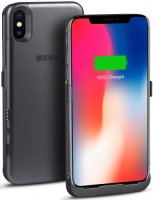 Чехол-аккумулятор InterStep для iPhone X 3000 mAh Space Gray (IS-AK-PCIX3ASPG-000B201)
