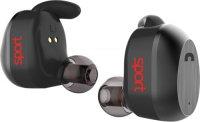 Беспроводные наушники с микрофоном Elari NanoPods Sport Black (NPS-2S)