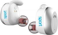 Беспроводные наушники с микрофоном Elari NanoPods Sport White (NPS-2S)
