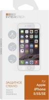 Защитное стекло InterStep для iPhone 5/5S/SE (IS-TG-IPHO5SCCC-000B202)