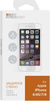Защитное стекло InterStep для iPhone 6/6S/7/8 (IS-TG-IPHO678CC-000B202)