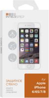 Защитное стекло InterStep для iPhone 6/6S/7/8