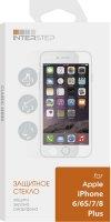 Защитное стекло InterStep для iPhone 6 Plus/6S Plus/7 Plus/8 Plus (IS-TG-IPHO678PL-000B202)
