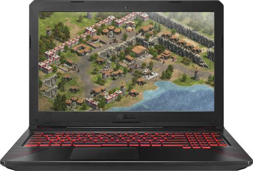 Купить Игровой ноутбук ASUS, FX504GE-E4629T (Intel Core i7-8750H...