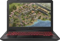 "Игровой ноутбук ASUS FX504GE-E4629T (Intel Core i7-8750H 2.2Ghz/15.6""/1920х1080/8GB/1TB HDD + 128GB SSD/NVIDIA GeForce GTX 1050 Ti/DVD нет/Wi-Fi/Bluetooth/Win 10)"