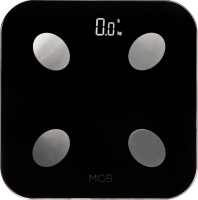 MGB BODY FAT SCALE GLASS EDITION BLACK (_F19_BB)