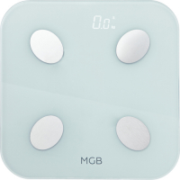 MGB BODY FAT SCALE GLASS EDITION WHITE (_F19_BW)