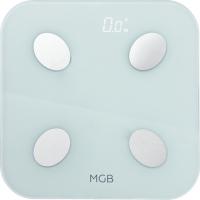 Весы MGB Body Fat Scale Glass Edition White (MGB_F19_BW) фото
