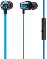 Наушники с микрофоном PHIATON by Cresyn C465S mic Blue (CPU-ES0465BB01)