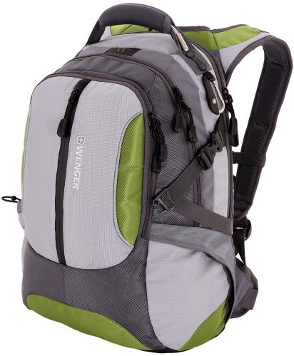 Купить Рюкзак WENGER, Large Volume Daypack, зеленый/серый (15914415)