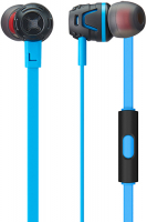Наушники с микрофоном PHIATON by Cresyn C450S mic Neon Blue (CPU-ES0450BВ02)