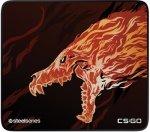 Игровой коврик Steelseries QcK+CS:GO Howl Edition (63403)
