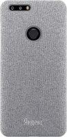 Чехол Яндекс Fiber Back Case для Яндекс Телефон Dark Gray (YP-CTXSH18R/DGR)