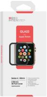 Защитное стекло с рамкой 3D InterStep для Apple Watch Series 4 40mm (IS-TG-APWA4403B-000B202) аксессуары для переговорных устройств rh771 uv tg uv2