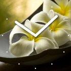 """Настенные часы INNOVA W09665 """"Цветы"""""""