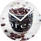 "Настенные часы INNOVA W09669 ""Зерна кофе"""
