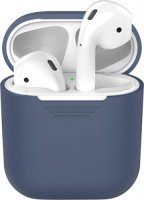 Чехол Deppa для Apple AirPods Blue (47004)