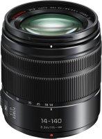 Объектив Panasonic Lumix G Vario 14-140 mm f/3.5-5.6 ASPH Black (H-FS14140E9K)
