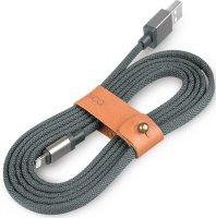 Кабель Rombica USB/Lighting 1,5 м Link Gray (CB-LK01)