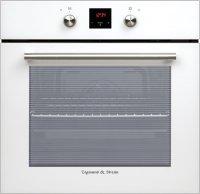 Независимый электрический духовой шкаф Zigmund & Shtain EN 120.512 W