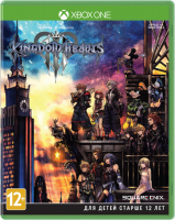 игра для приставки sony ps4 kingdom hearts iii стандартное издание Игра для Xbox One Square Enix Kingdom Hearts III