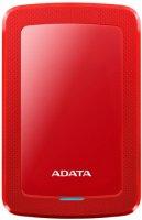 Внешний жесткий диск ADATA HV300 1TB Red (AHV300-1TU31-CRD)