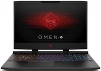 "Игровой ноутбук HP Omen 15-dc0027ur (4JS47EA) (Intel Core i5-8300H 2300Mhz/15.6""/1920х1080/8GB/1TB+128 SSD/DVD нет/NVIDIA GeForce GTX1050 Ti/Wi-Fi/Bluetooth/Win 10 Home)"