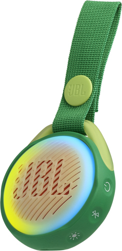 Купить Портативная акустика JBL, Jr Pop Froggy Green (JBLJRPOPGRN)