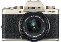 Системный фотоаппарат Fujifilm X-Т100 Kit 15-45 F3.5-5.6 Gold