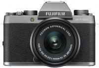 Системный фотоаппарат Fujifilm X-Т100 Kit 15-45 F3.5-5.6 Dark Silver