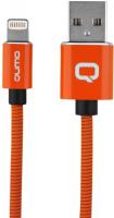 Купить Кабель для iPod, iPhone, iPad Qumo, Lightning для Apple MFI metal+metal, 1 м, Orange (24274)